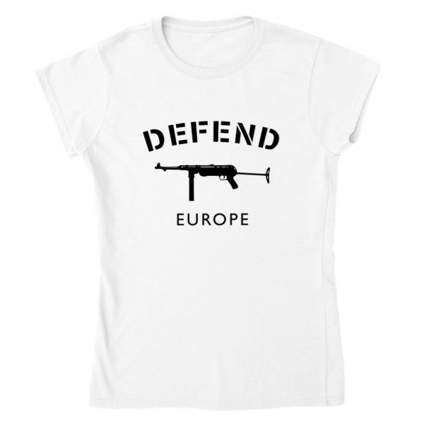 Defend Europe Women's Lady Fit T-shirt