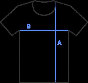 T-shirt measurements guide